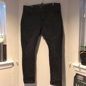 Black express stretch jeans